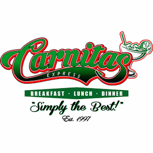 20% OFF ENTIRE BILL for Veterans, Military, Police & Fire at Carnitas Express Murrieta (East)