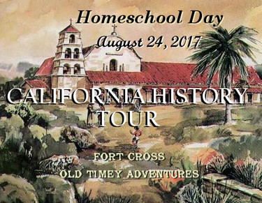 California History Tour - Open Sign Ups